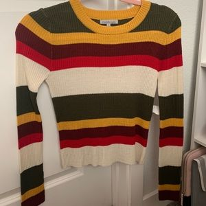 Charlotte Russe Long Sleeve Thin Sweater